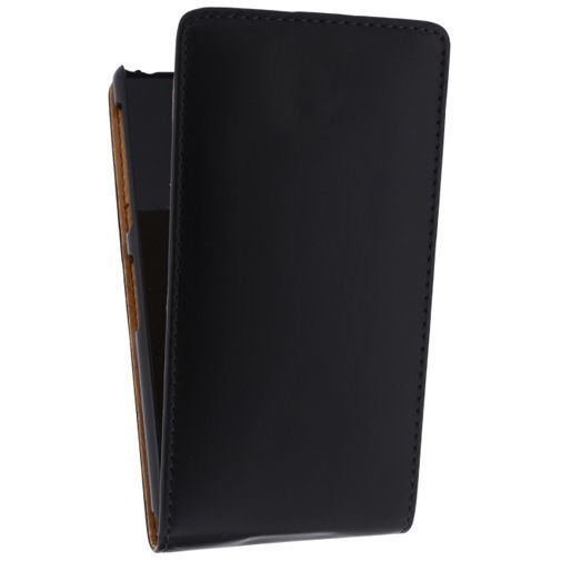 Productafbeelding van de Xccess Leather Flip Case Sony Xperia Z2 Black