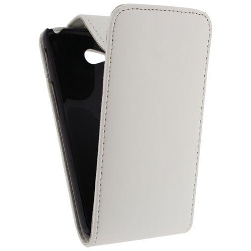Productafbeelding van de Xccess Leather Flip Case White LG L70