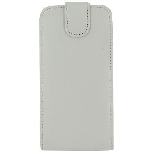 Productafbeelding van de Xccess Leather Flip Case White Samsung Galaxy A7