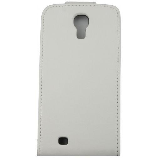 Productafbeelding van de Xccess Leather Flip Case White Samsung Galaxy S4