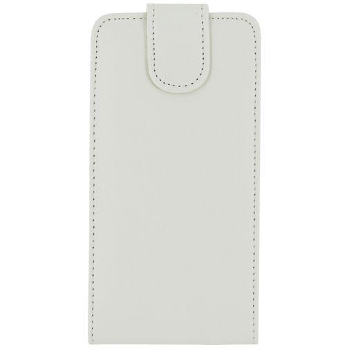 Productafbeelding van de Xccess Leather Flip Case White Samsung Galaxy S6