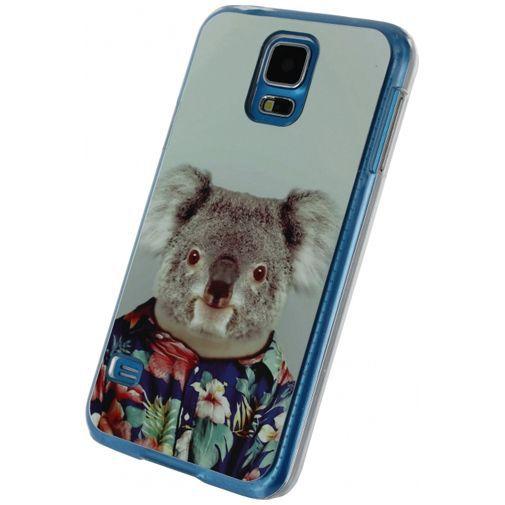 Productafbeelding van de Xccess Metal Plate Cover Funny Koala Samsung Galaxy S5/S5 Plus/S5 Neo