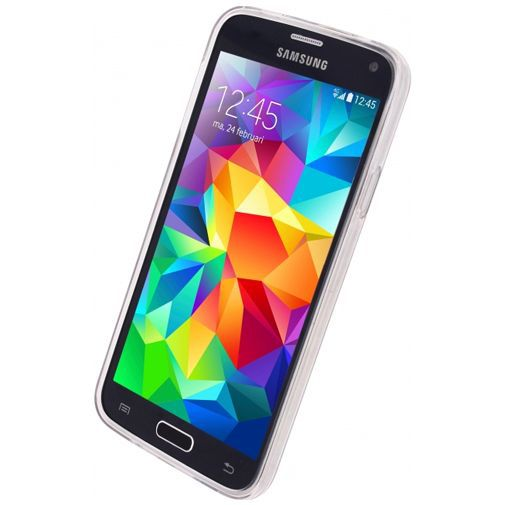 Productafbeelding van de Xccess Oil TPU Case Hearts Samsung Galaxy S5/S5 Plus/S5 Neo