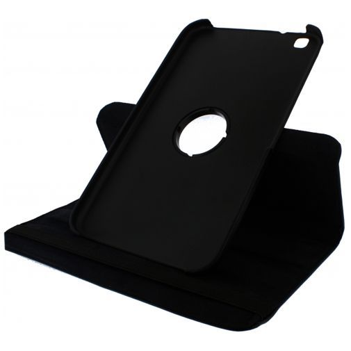 Productafbeelding van de Xccess Rotating Leather Stand Case Black Samsung Galaxy Tab 3 8.0