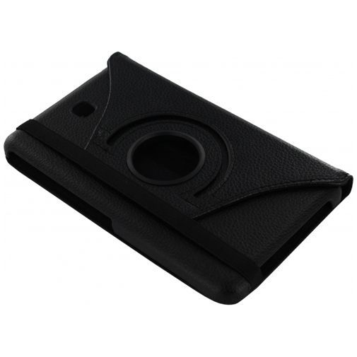 Productafbeelding van de Xccess Rotating Leather Stand Case Black Samsung Galaxy Tab 4 7.0