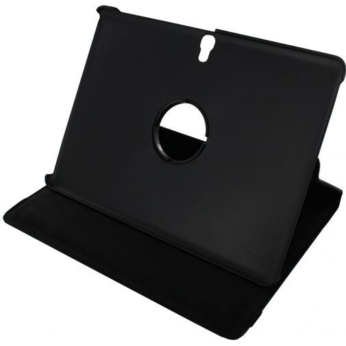 Productafbeelding van de Xccess Rotating Leather Stand Case Black Samsung Galaxy Tab S 10.5