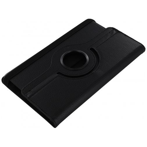 Productafbeelding van de Xccess Rotating Leather Stand Case Black Samsung Galaxy Tab S 8.4