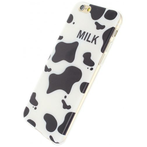Productafbeelding van de Xccess TPU Case Black Spots Apple iPhone 6/6S