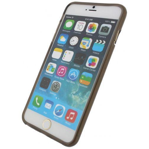 Productafbeelding van de Xccess TPU Case Transparant Black Apple iPhone 6 Plus/6S Plus