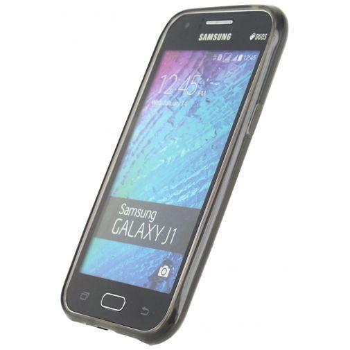 Productafbeelding van de Xccess TPU Case Transparent Black Samsung Galaxy J1