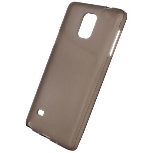 Productafbeelding van de Xccess TPU Case Transparent Black Samsung Galaxy Note 4