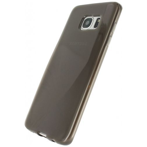 Productafbeelding van de Xccess TPU Case Transparent Black Samsung Galaxy S7 Edge
