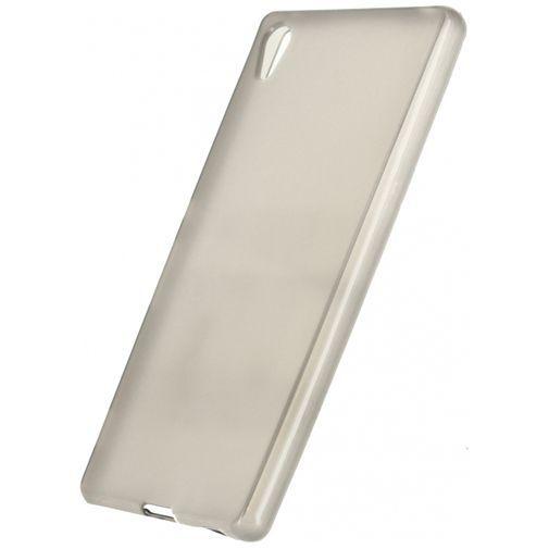 Productafbeelding van de Xccess TPU Case Transparent Black Sony Xperia Z3 Plus