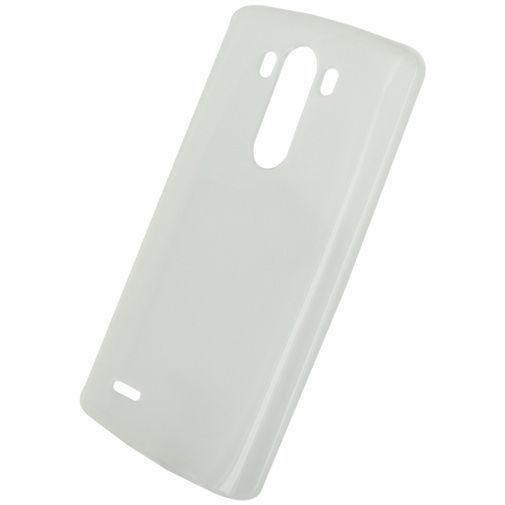 Productafbeelding van de Xccess TPU Case Transparent White LG G3