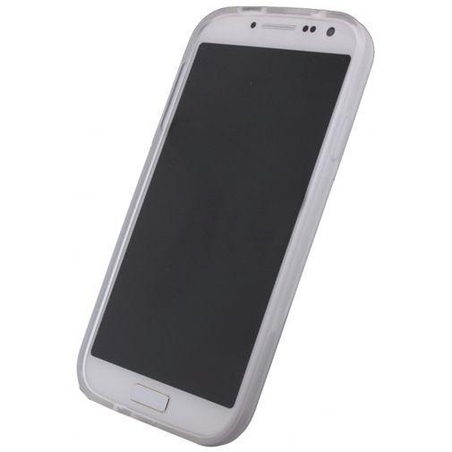 Productafbeelding van de Xccess TPU Case Transparent White Samsung Galaxy S4