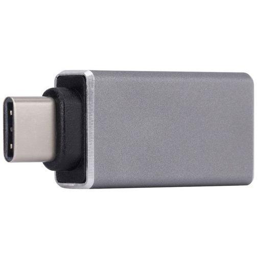 Productafbeelding van de Xqisit Adapter USB 3.0 naar USB-C Silver