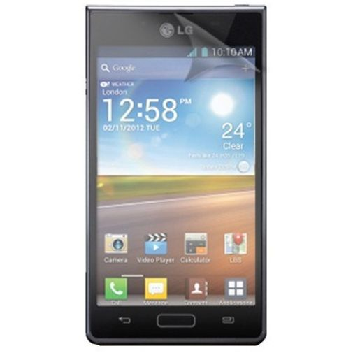 Productafbeelding van de Xqisit Screenprotector voor LG Optimus L7 3-Pack