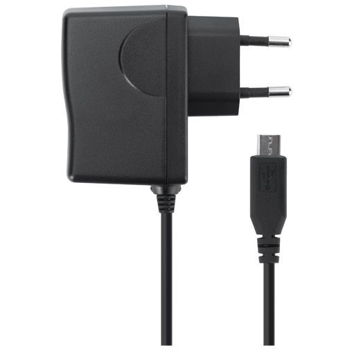 Productafbeelding van de Xqisit Thuislader MicroUSB 600 mA Black