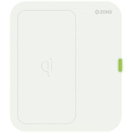 Productafbeelding van de Zens Qi Single Draadloze Lader White