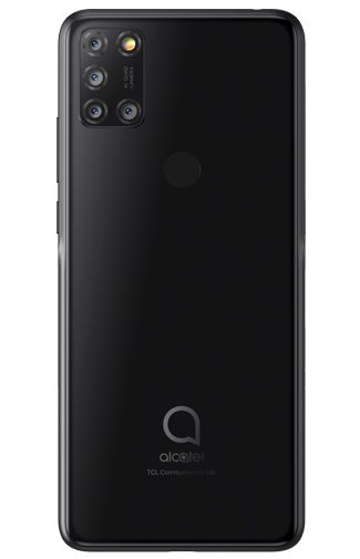 Productafbeelding van de Alcatel 3X (2020) 128GB Black