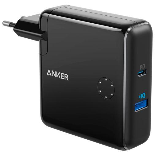 Produktimage des Anker Powercore Fusion Schnellladegerät 30W/Powerbank 5000mAh Schwarz