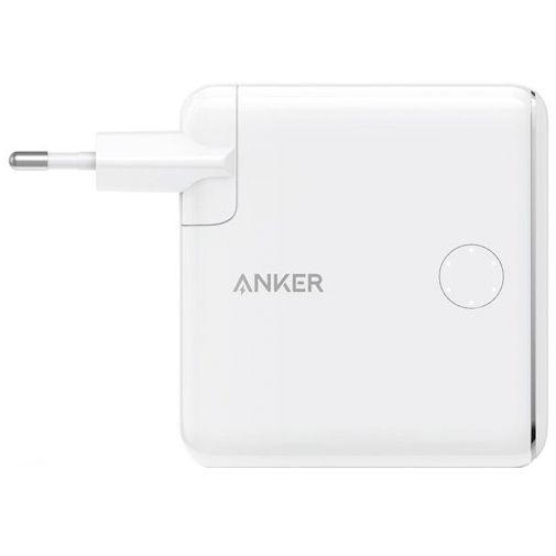 Productafbeelding van de Anker PowerCore III Fusion Snellader 18W/Powerbank 5000mAh Wit