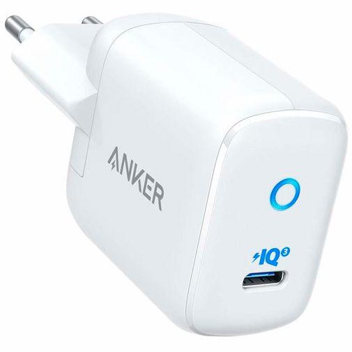Productafbeelding van de Anker PowerPort III Mini USB-C Snellader 30W Wit