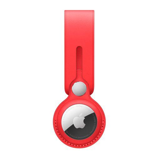 Productafbeelding van de Apple AirTag Loop Leer Rood