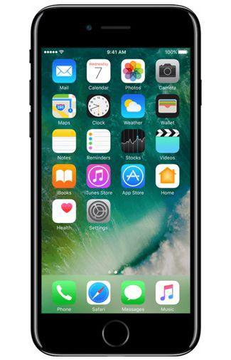 Productafbeelding van de Apple iPhone 7 128GB Jet Black Refurbished