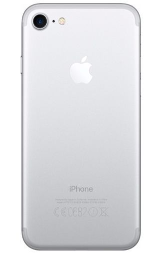 Productafbeelding van de Apple iPhone 7 128GB Silver Refurbished