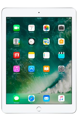 Produktimage des Apple iPad 2017 WiFi 128GB Silber Refurbished