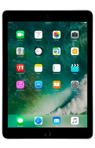 Produktimage des Apple iPad 2017 WiFi 128GB Schwarz Refurbished