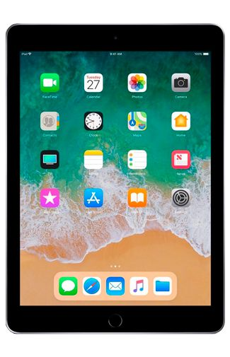 Produktimage des Apple iPad 2018 WiFi 128GB Schwarz Refurbished