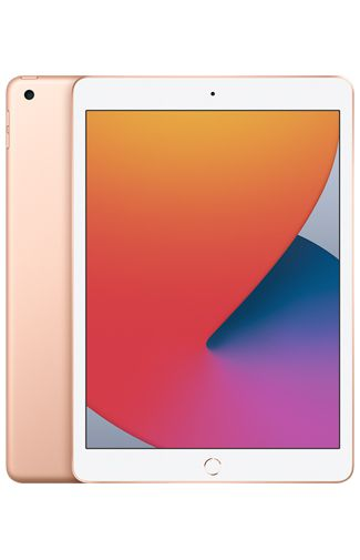 Productafbeelding van de Apple iPad 2020 WiFi + 4G 128GB Gold