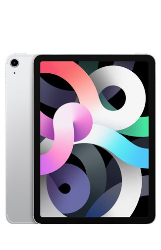 Produktimage des Apple iPad Air 2020 Wi-Fi + LTE 256GB Silber