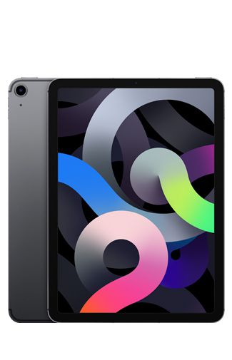Produktimage des Apple iPad Air 2020 Wi-Fi 64GB Schwarz