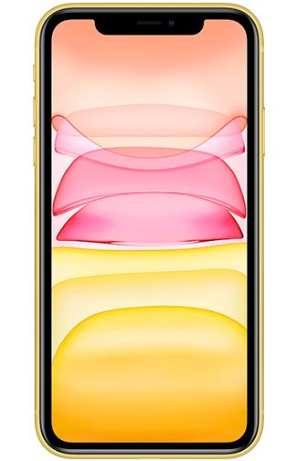 Product image of the Apple iPhone 11 128GB Yellow Refurbished