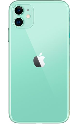 Productafbeelding van de Apple iPhone 11 128GB Groen Refurbished
