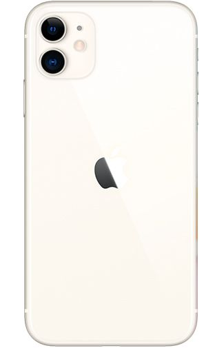 Product image of the Apple iPhone 11 128GB White Refurbished