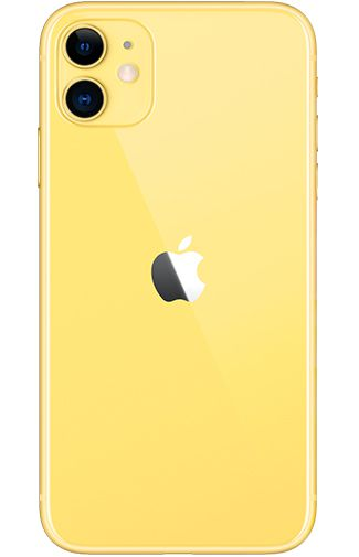 Productafbeelding van de Apple iPhone 11 64GB Geel Refurbished