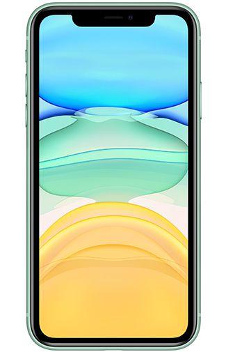 Productafbeelding van de Apple iPhone 11 64GB Groen Refurbished