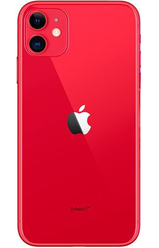 Productafbeelding van de Apple iPhone 11 64GB Red