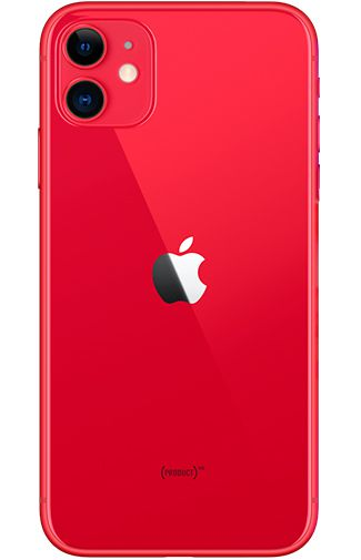 Product image of the Apple iPhone 11 64GB Red Refurbished