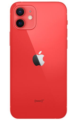 Productafbeelding van de Apple iPhone 12 64GB Rood