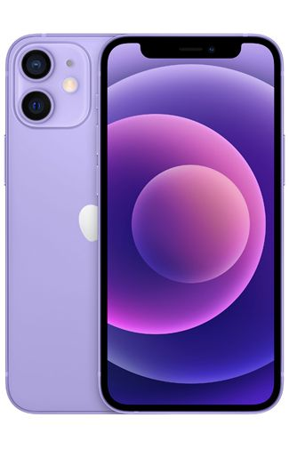 Product image of the Apple iPhone 12 Mini 128GB Purple