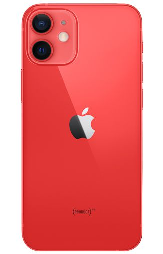 Productafbeelding van de Apple iPhone 12 Mini 64GB Rood