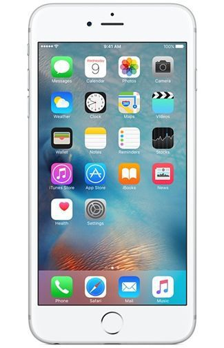 Productafbeelding van de Apple iPhone 6S 128GB Silver Refurbished