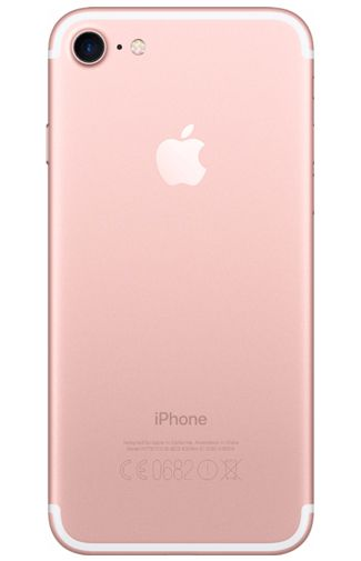 Productafbeelding van de Apple iPhone 7 128GB Roségoud Certified Pre-owned
