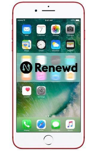 Productafbeelding van de Apple iPhone 7 Plus 128GB Red Refurbished