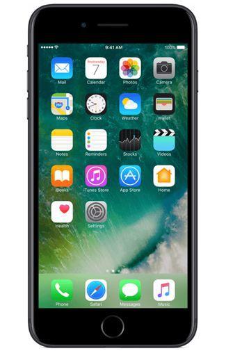 Productafbeelding van de Apple iPhone 7 Plus 128GB Black Refurbished